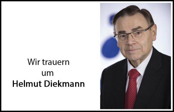 Wir trauern um Helmut Diekmann