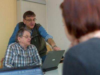 Ehrenamt – PC-Unterricht bei Herrn Köster