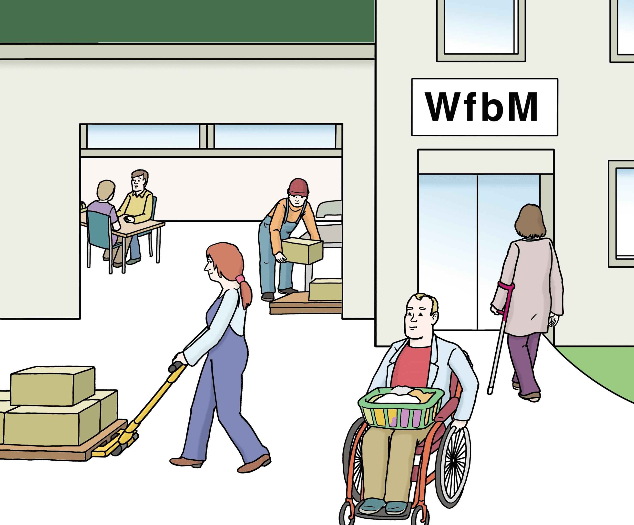 werkstatt fuer behinderte menschen
