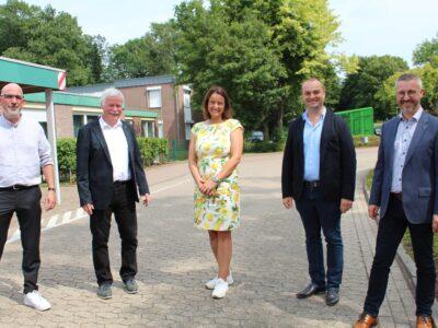 Landrätin zu Besuch bei den Lübecker Werkstätten