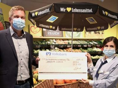 Edeka Wehrmann unterstützt Lebenshilfe Lübbecke