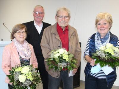 Langjährige Mitglieder geehrt